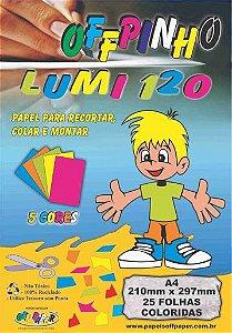 Papel Offpinho Lumi A4 120g - Off Paper
