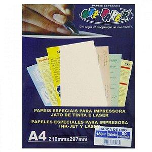 Papel Casca de Ovo Salmão A4 - Off Paper