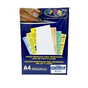 Papel Linho Branco A4 180g - Off Paper