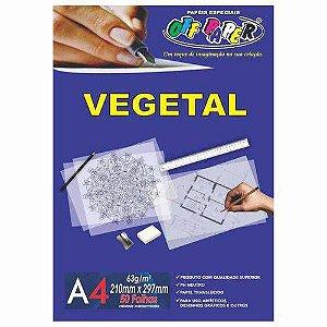 Papel Vegetal A4 63G C/ 50 FLS
