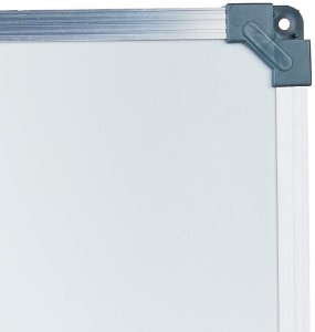 Quadro Branco Moldura Aluminio Standard 90x60cm  - Stalo
