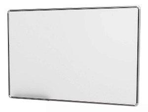 Quadro Branco Moldura  Aluminío  Free 120x090 cm - Stalo