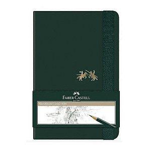 Caderneta Sketchbook C 9000 Sem Pauta Pequeno 80 Folhas - Faber-Castell