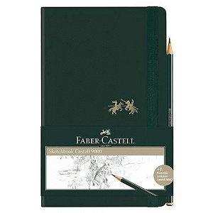 Caderneta Sketchbook C 9000 Sem Pauta Grande 84 Folhas - Faber-Castell
