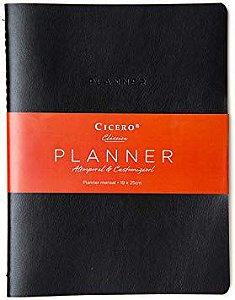 Agenda Planner Planejamento Preta - Cicero
