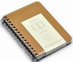 Caderneta Kraft Sem Pauta 14x21 - Cicero
