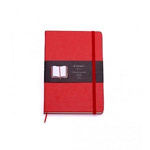 Caderneta S/ Pauta Vermelha - Cicero