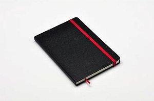 Caderneta Pautada Clássica Preta - Cicero