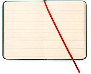 Caderneta Pautada Verde - Cicero