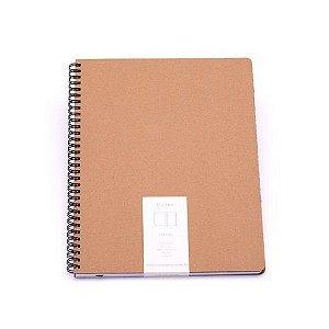 Caderno Kraft Sem Pauta 21x28 - Cicero