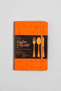 Caderno de Receitas Laranja - Cicero