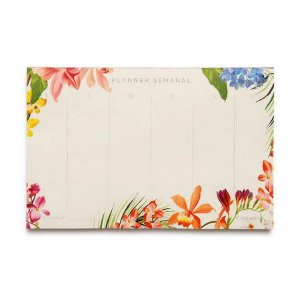 Bloco Planner Mensal Floresta Tropical - Cicero