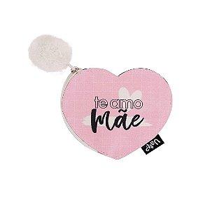 Niqueleira Shape Coração Te amo mãe -UATT