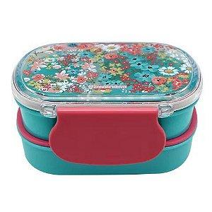 Lunch Box com 2 compartimento 450ML melhor mãe do mundo - Zona Criativa