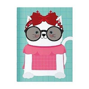 Caderno Planner Mensal Happy Gato - Me encanta que te encante