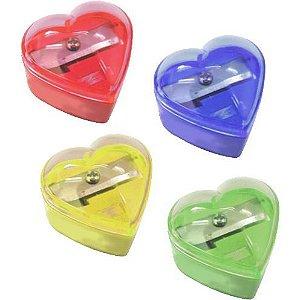 Apontador Coração C/ Depósito - Cis