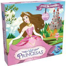 Jogo Da Memoria Princesas 40pecas - Pais E Filhos