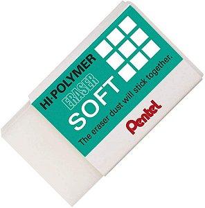 Borracha Hi-Polymer Eraser Soft  Grande -Pentel