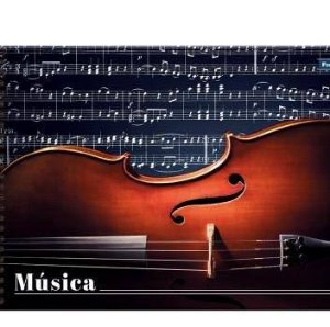 Caderno Musica 1/4 96F  - Foroni
