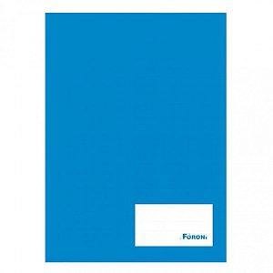 Caderno Brochura 1/4 Azul 48 Fls - FORONI