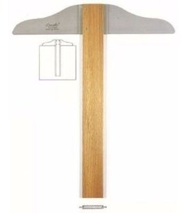 Régua T Madeira 60cm - Trident
