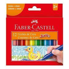 Gizão de Cera 12 Cores - Faber-Castell