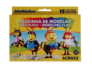 Massinha De Modelar/12 Rolos - ACRILEX