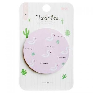 Bloco Adesivo Flamingos 50fls