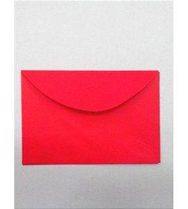 Envelope Visita Vermelho - Foroni