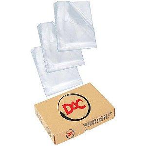 Envelope Plastico.1/2 OFicio 2 Furos - Dac