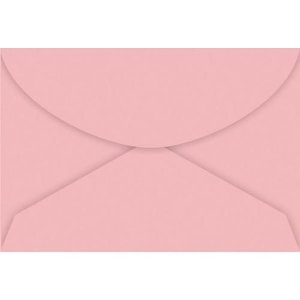 Envelope Visita Rosa Claro - Tilibra
