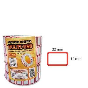 Etiqueta para Preço 22x14mm  - FITACREL