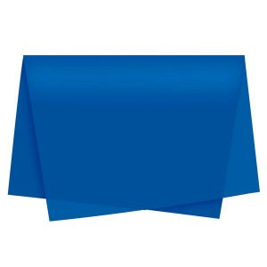 Papel Seda Auto Azul Royal 49x69