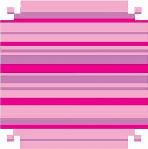 Colorset Dp Face 48x66 Listrado Rosa