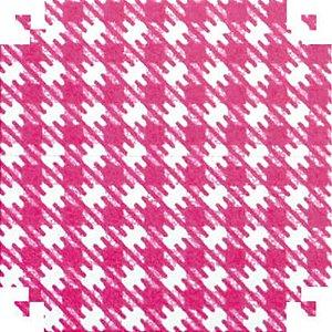 Colorset Xadrez Vermelho 48X66 - Vmp