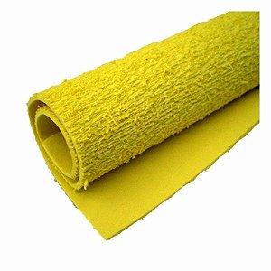 Eva Atoalhado 40x60  Amarelo