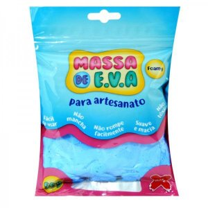Massa De Eva Azul Claro 50g - Make+