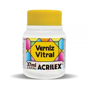 Verniz Vitral Incolor 37ml - Acrilex