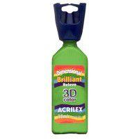 Tinta Relevo Dimensional Verde Abacate 35ML  - Acrilex