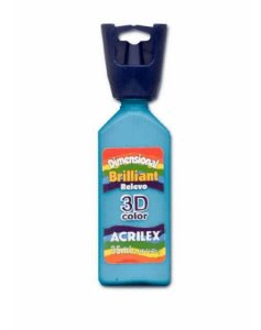 Tinta Relevo Dimensional Azul Celeste 35ML  - Acrilex