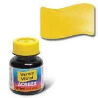 Verniz Vitral 37ml Amarelo Ouro - Acrilex