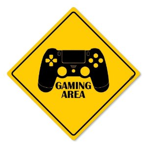 Placa Decorativa 30x30 Gaming Area PS - Beek