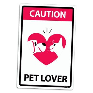 Placa Decorativa Pet Lover - Beek