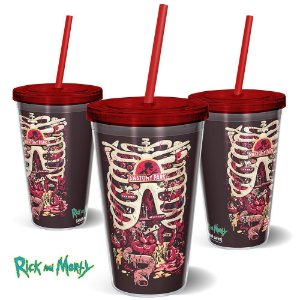 Copo 600ml Rick and Morty Anatomy Park - Beek