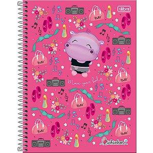 Caderno Universitário Bichinhos 12M - Tilibra