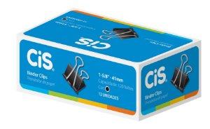 Prendedor De Papel Blinder 41mm Preto - Cis