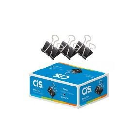 Prendedor De Papel Cis-110151 Binder 51mm Preto Cx/12