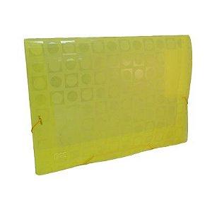 Pasta  Decorada Amarela 2cm - Dac