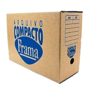 Caixa Arquivo Morto Compacto Kraft - Frama