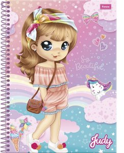 Caderno Judy 96 Fls - Foroni